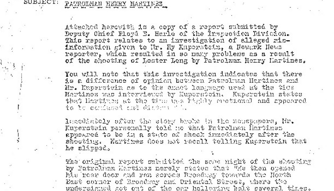 thumbnail of Police Report on Patrolman Henry Martinez (August 5, 1965)-ilovepdf-compressed