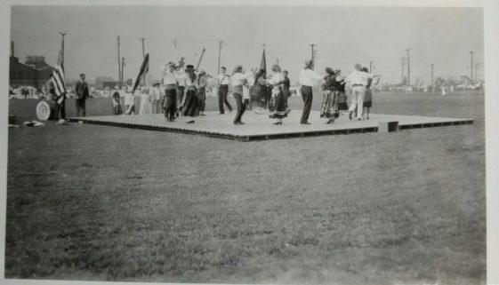 Portuguese Group Dances in a Newark Park