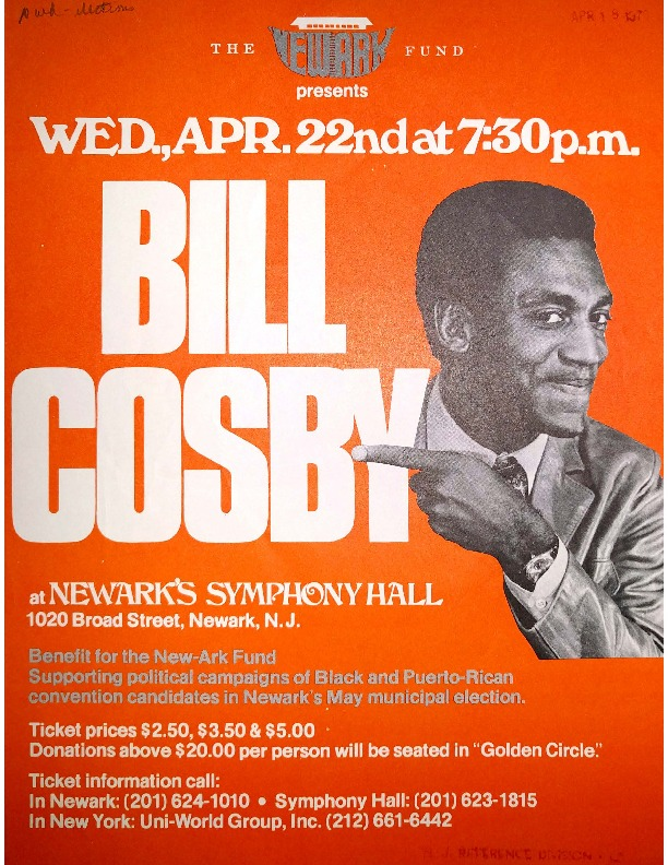 Benefit for the Newark Fund with Bill Cosby