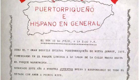 thumbnail of Puerto Rican Parade Flyer