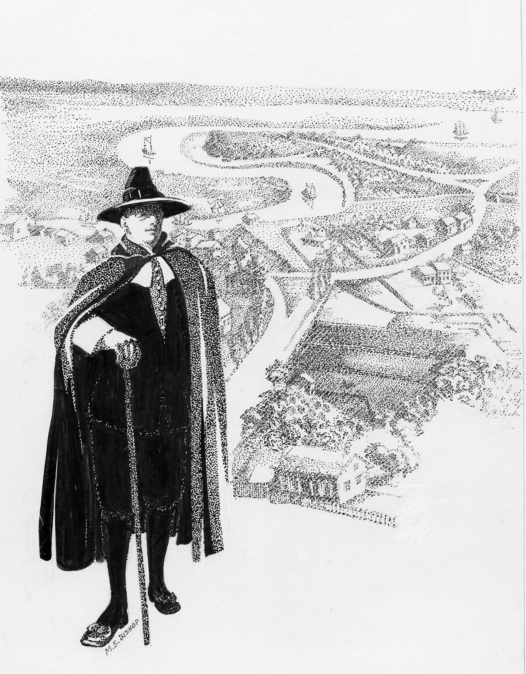 Robert Treat Illustration