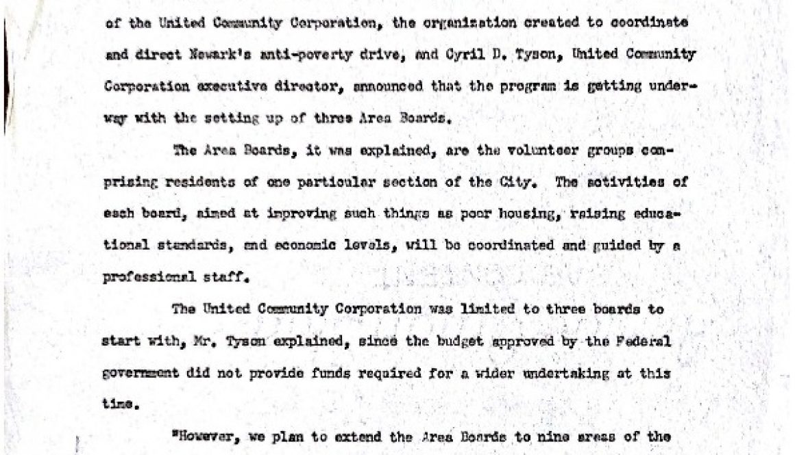 thumbnail of UCC Press Release (Feb. 24, 1965)