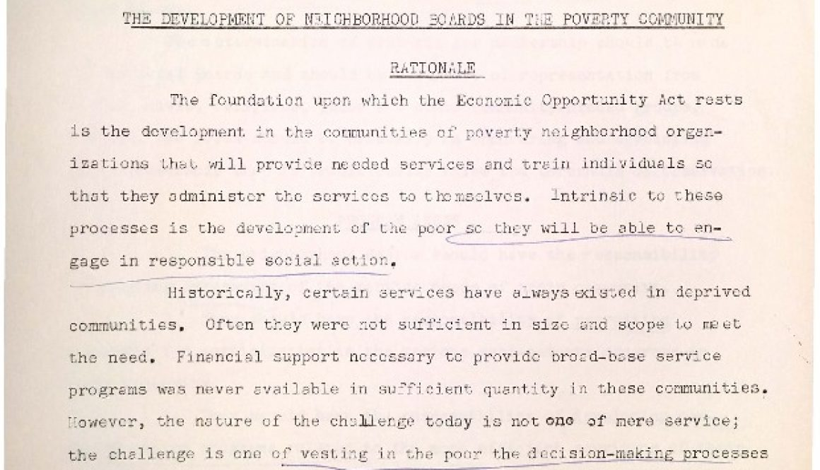 thumbnail of UCC Tactical Memo- Development of Neighborhood Boards (Jan 18, 1965)