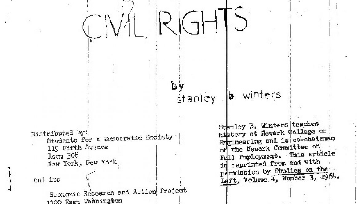 thumbnail of Urban Renewal and Civil Rights, by Stanley B. Winters-ilovepdf-compressed