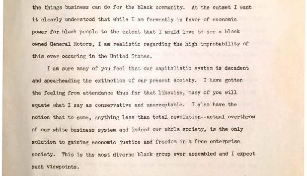 thumbnail of William Mercer, What Business Can Do for the Black Community (National Conference on Black Power)-ilovepdf-compressed
