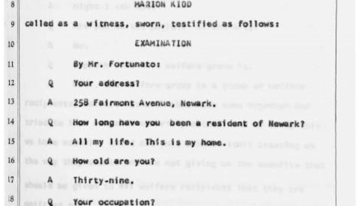 thumbnail of Witness Testimony of Marion Kidd Before the Governor's Select Commission on Civil Disorder (Oct. 17, 1967)-ilovepdf-compressed