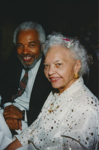 Junius Williams and Louise Epperson