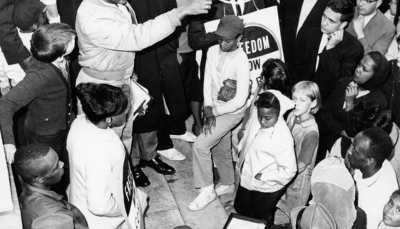 CORE Anti-Police Brutality demonstration in Newark, June 1965
