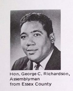 Photo of George Richardson from the 1969 Annual Report of the Greater Newark Urban Coalition. --Credit: Newark Public Library