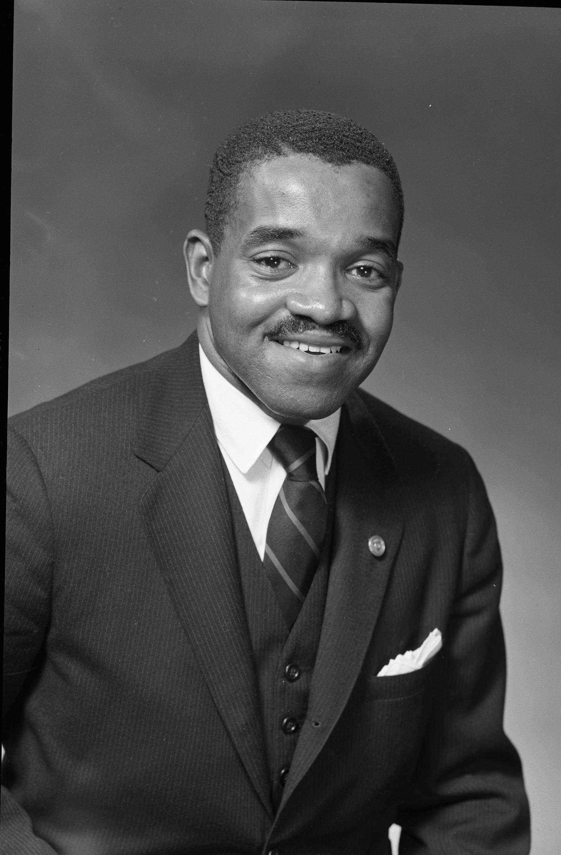 Portrait of Calvin West, 1966 (Photo- Al Henderson)