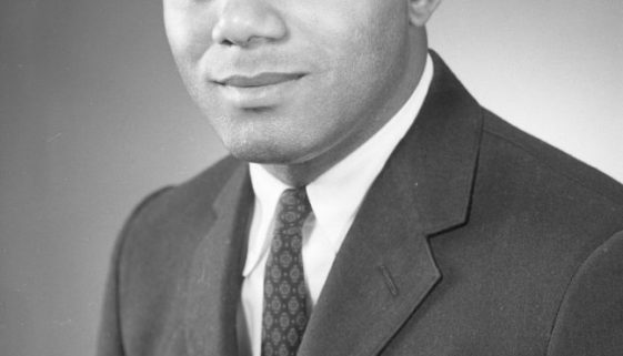 Portrait of Robert Curvin (Photo, Al Henderson)