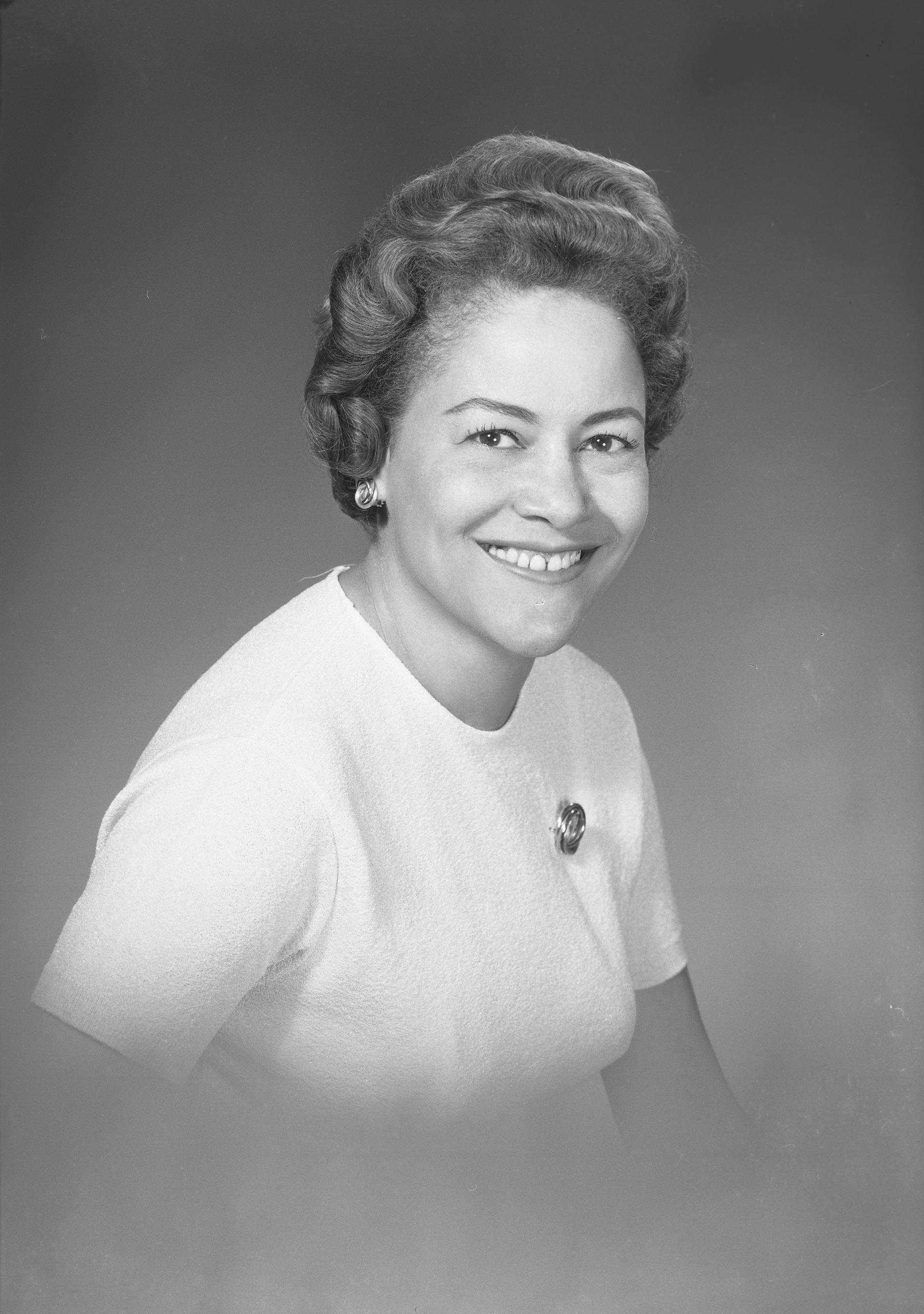 Portrait of Sally Carroll, 1968