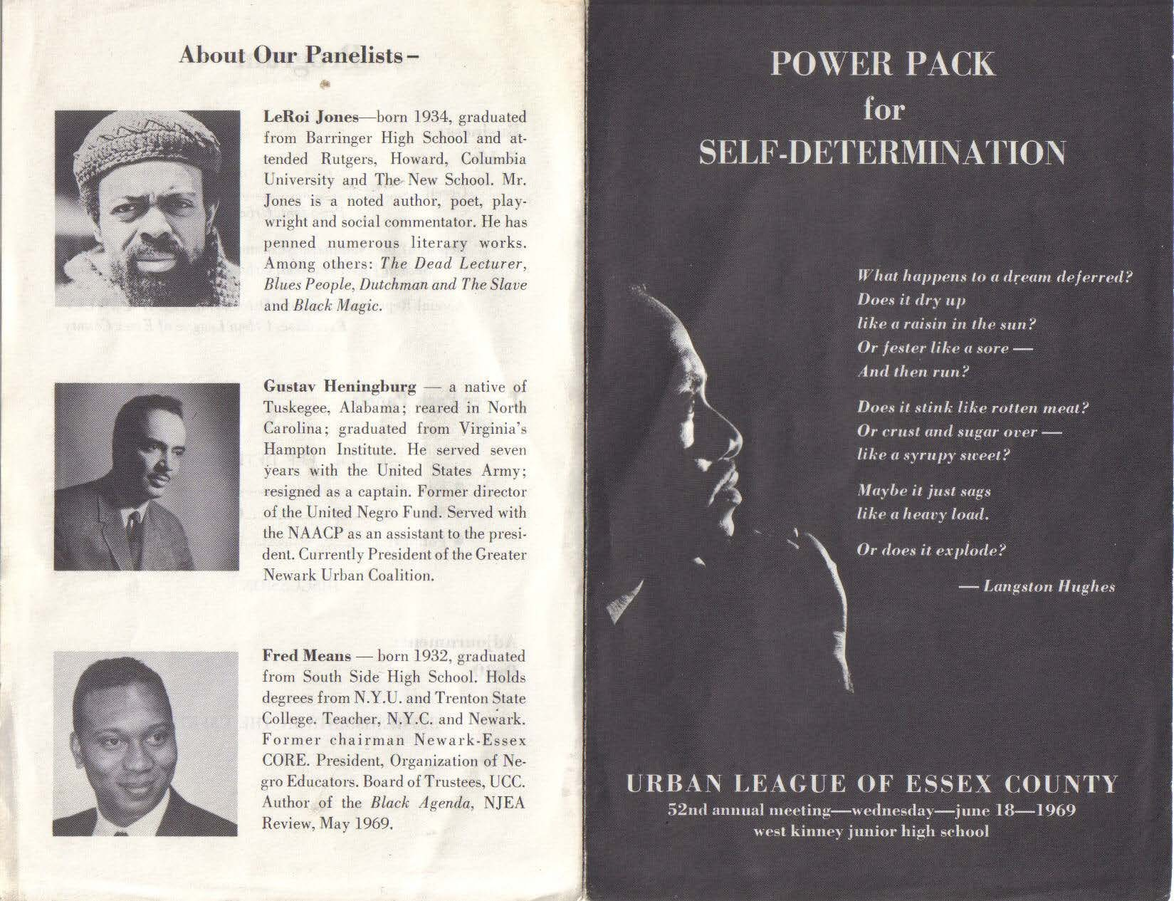 Power Pack for Self-Determination, 1969