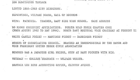 thumbnail of Robert Curvin Police Profile