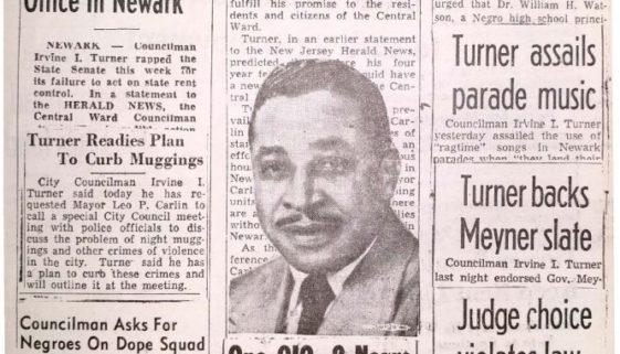 thumbnail of Irvine Turner Campaign Pamphlet, 1958
