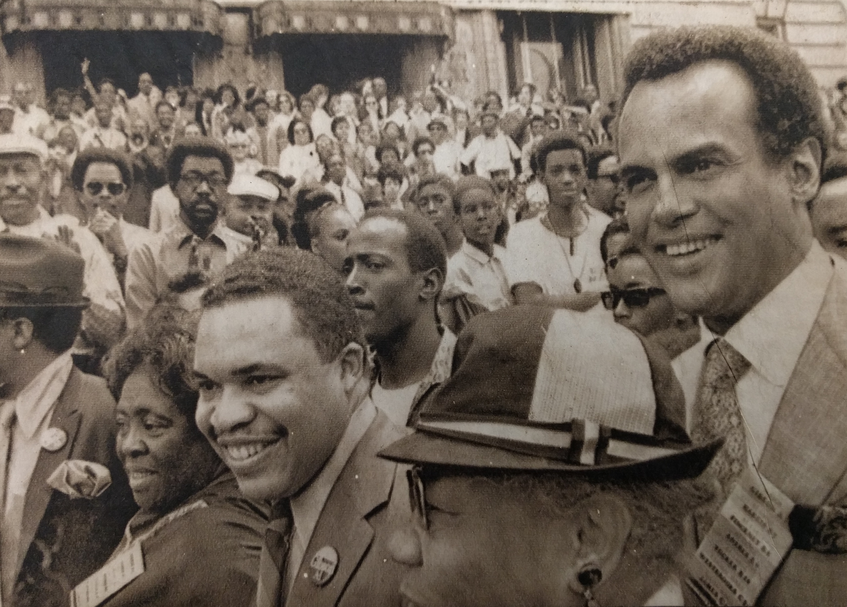 Ken Gibson Campaign March (June 15, 1970)