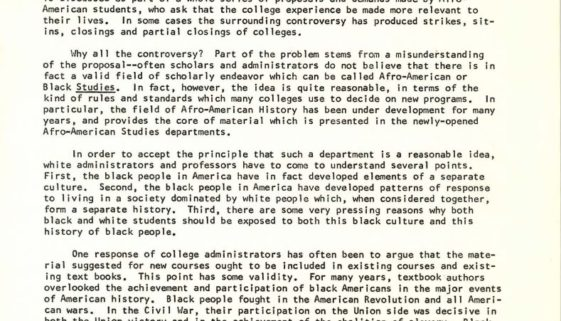 Thumbnail from Rutgers Report on World Affairs (March 1, 1969)