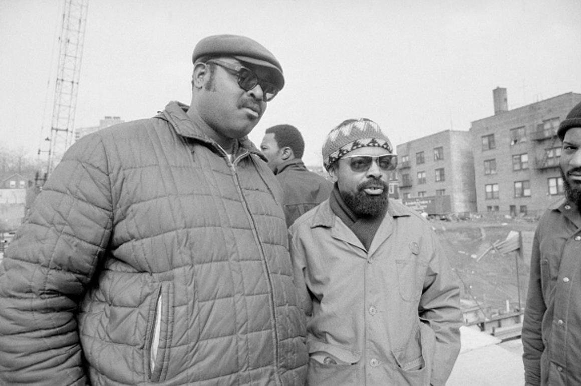 Amiri Baraka Speaks to Reporters at Kawaida Towers Construction Site (1973)