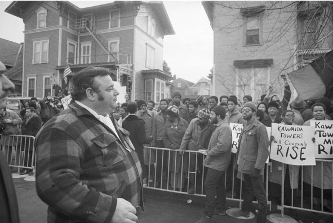 Anthony Imperiale Faces Kawaida Towers Supporters (1973)