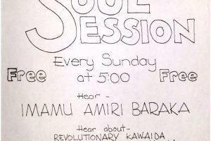 Soul Session Flyer (1974)