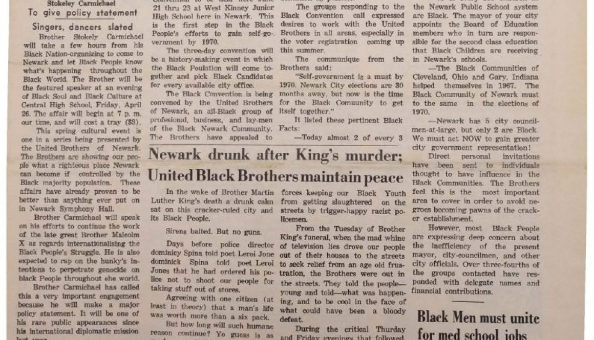 thumbnail of Black New Ark (April 1968)