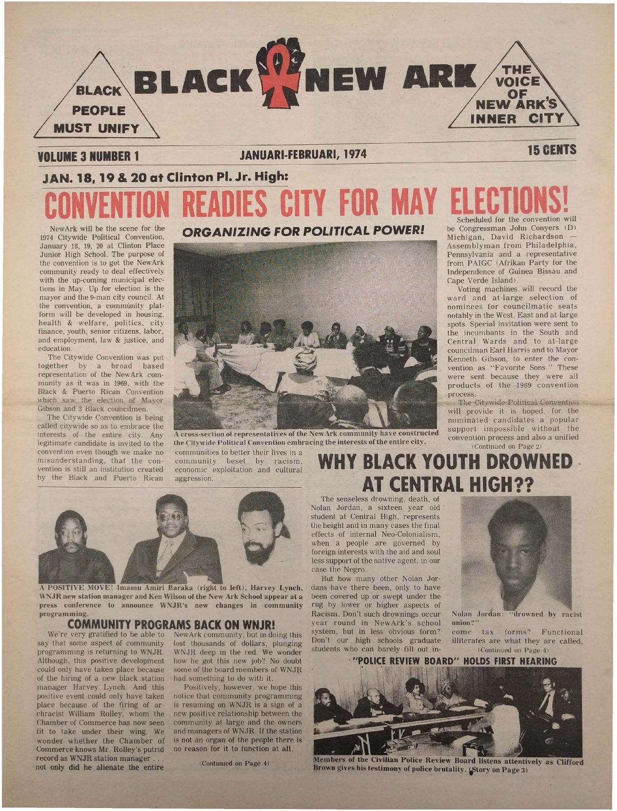 Black NewArk (Jan-Feb 1974)