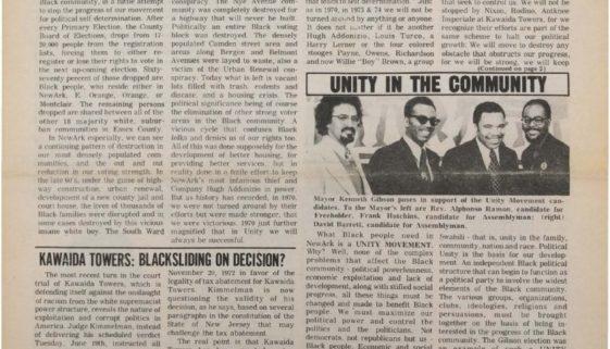 thumbnail of Black New Ark (July 1973)