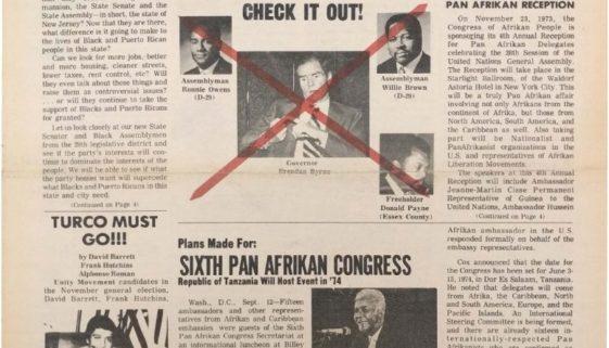 thumbnail of Black New Ark (November 1973, Second Edition)