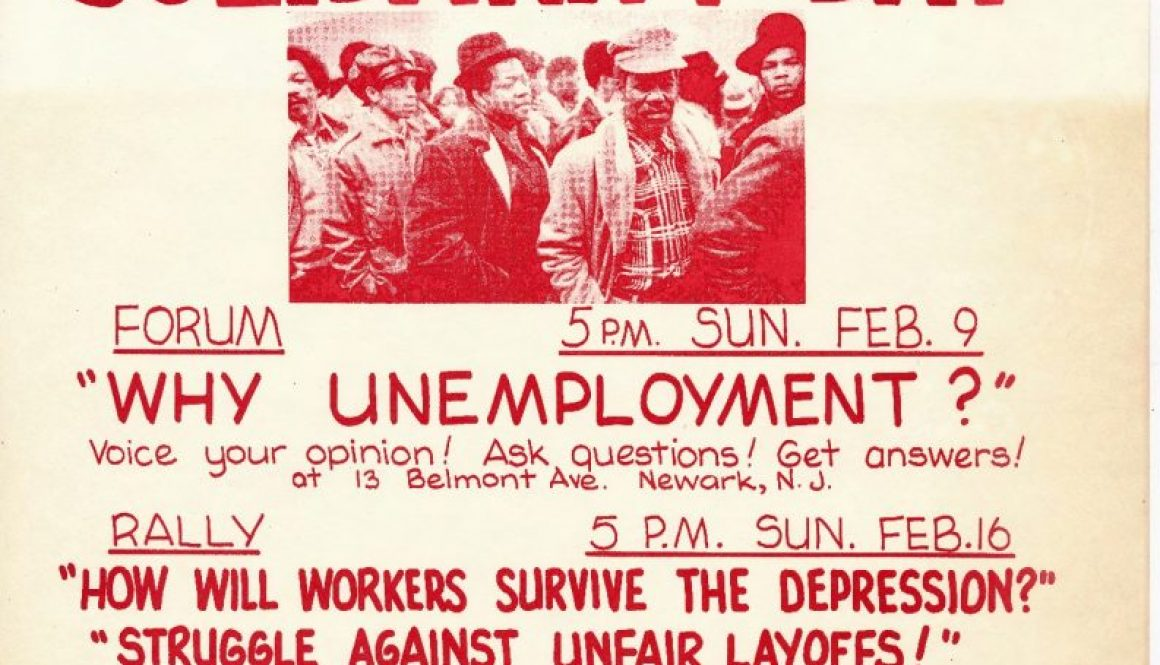 thumbnail of CAP Flyer for Worker's Solidarity Day (1975)