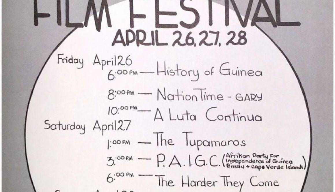 thumbnail of CFUN Flyer- Revolutionary Film Festival (April 1974)