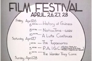 CFUN Flyer- Revolutionary Film Festival (April 1974)