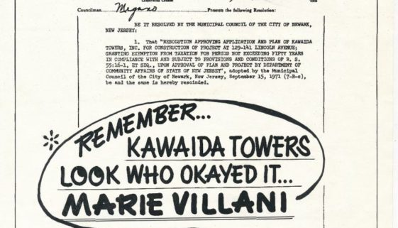 thumbnail of Flyer Against Kawaida Towers and Marie Villani (1978)