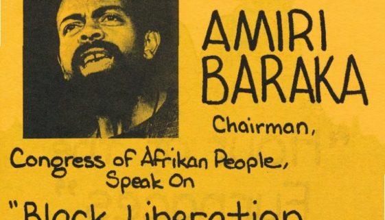 thumbnail of Flyer for Amiri Baraka Speech (1974)