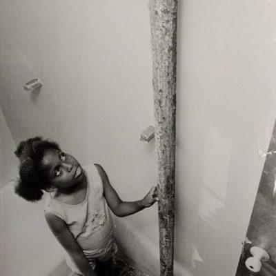 Girl Inside Stella Wright Apartment, 2 (July 1972)