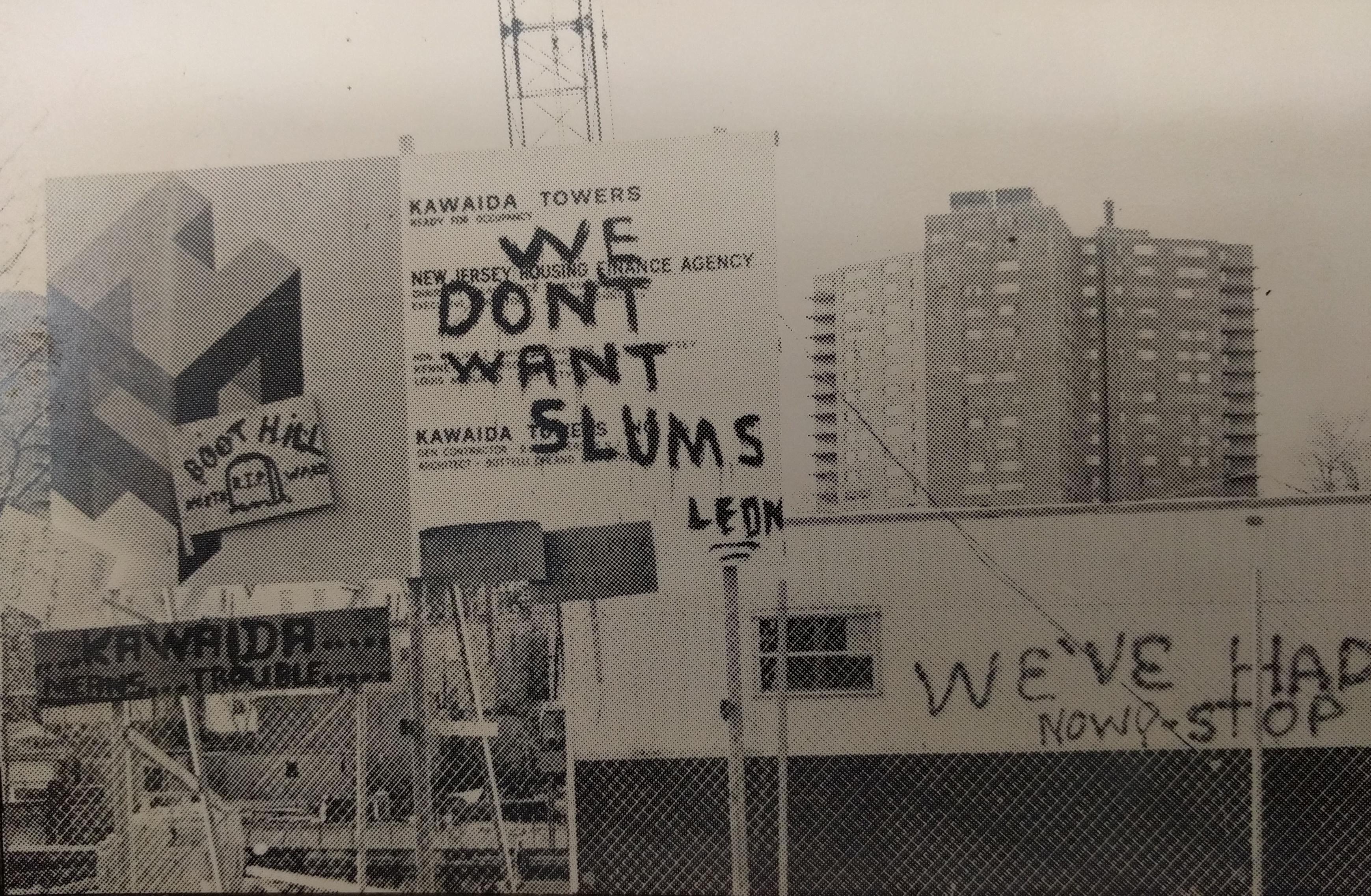Vandalism at the Kawaida Towers Construction Site (Jan 6, 1973)