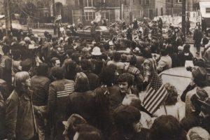 Protests at Kawaida Construction Site (Feb 22, 1973)