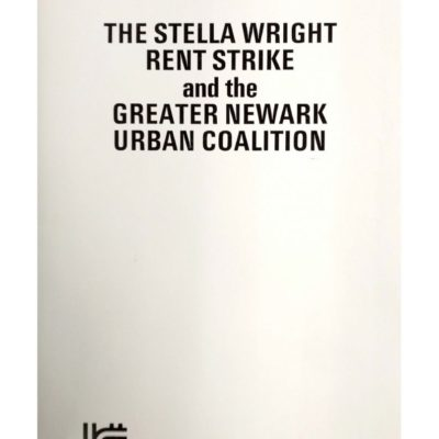 Booklet on the Stella Wright Rent Strike