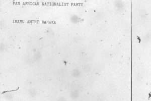 Strategy and Tactics of a Pan African Nationalist Party (1972)