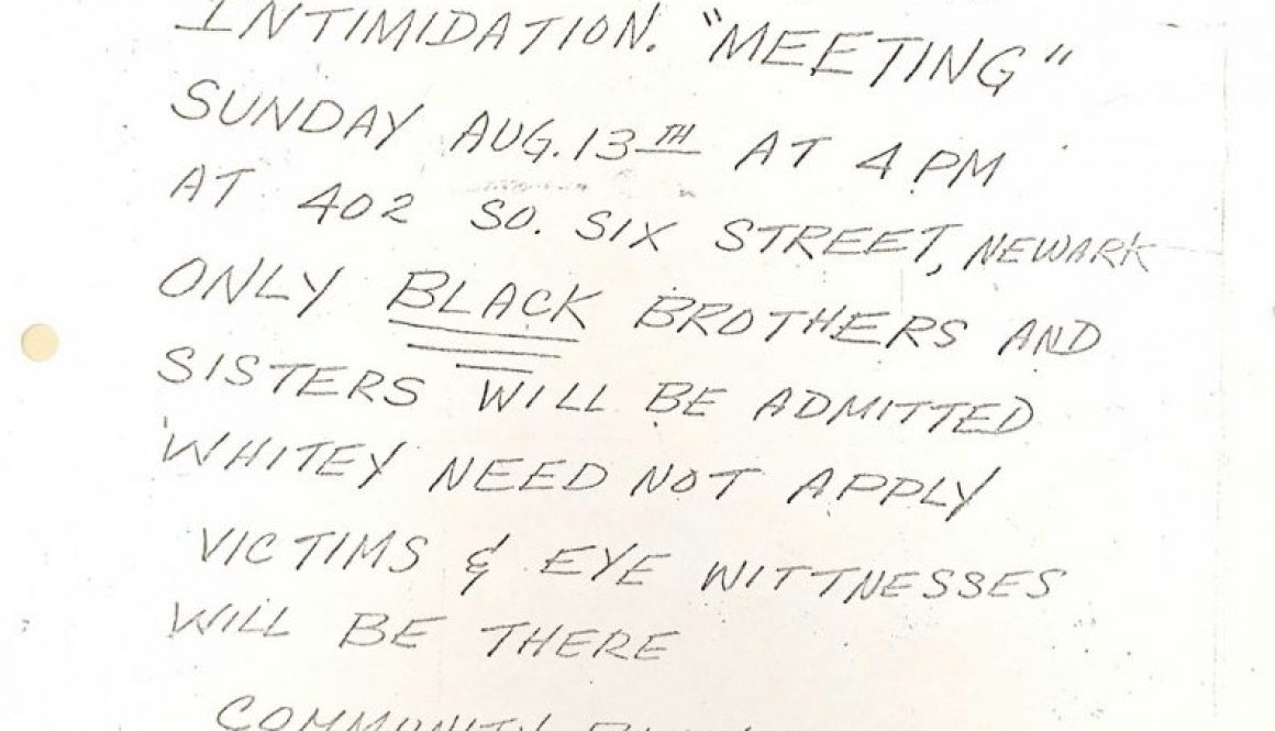 thumbnail of United AfroAmerican Association Flyer- Aug 13 Meeting on Police Brutality (C-54)