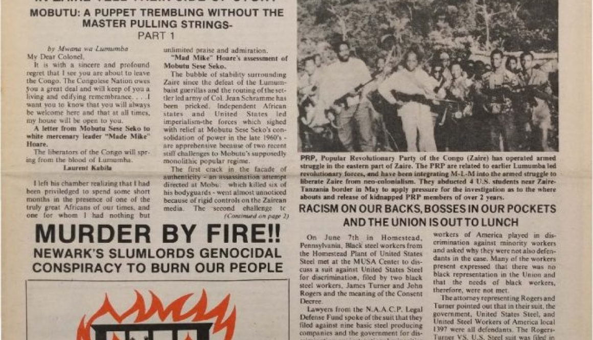 thumbnail of Unity and Struggle (August 1975)