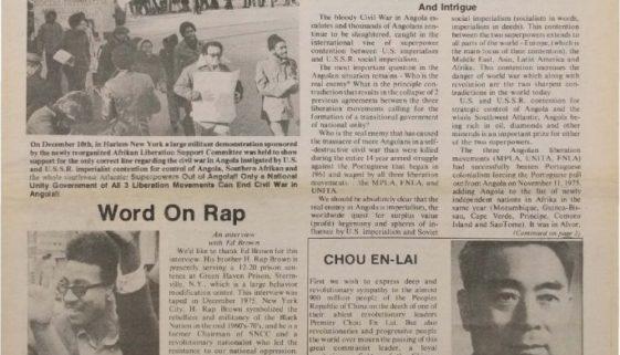 thumbnail of Unity and Struggle (February 1976)
