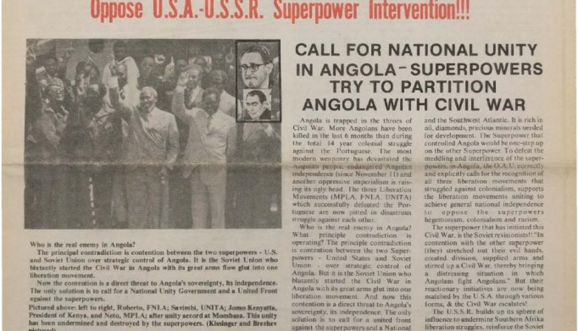 thumbnail of Unity and Struggle (January 1976)