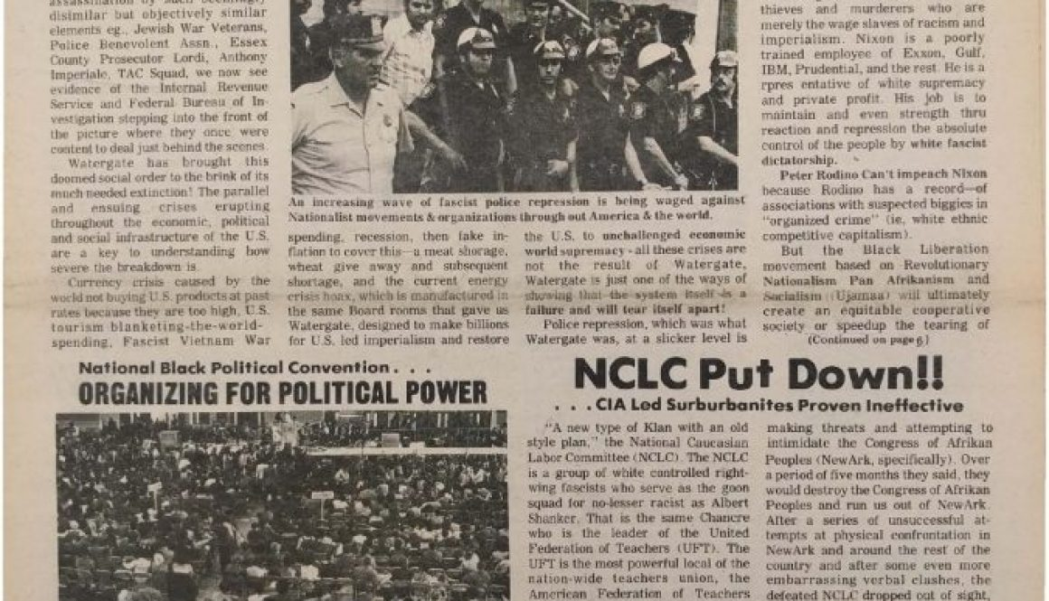 thumbnail of Unity and Struggle (March 1974)
