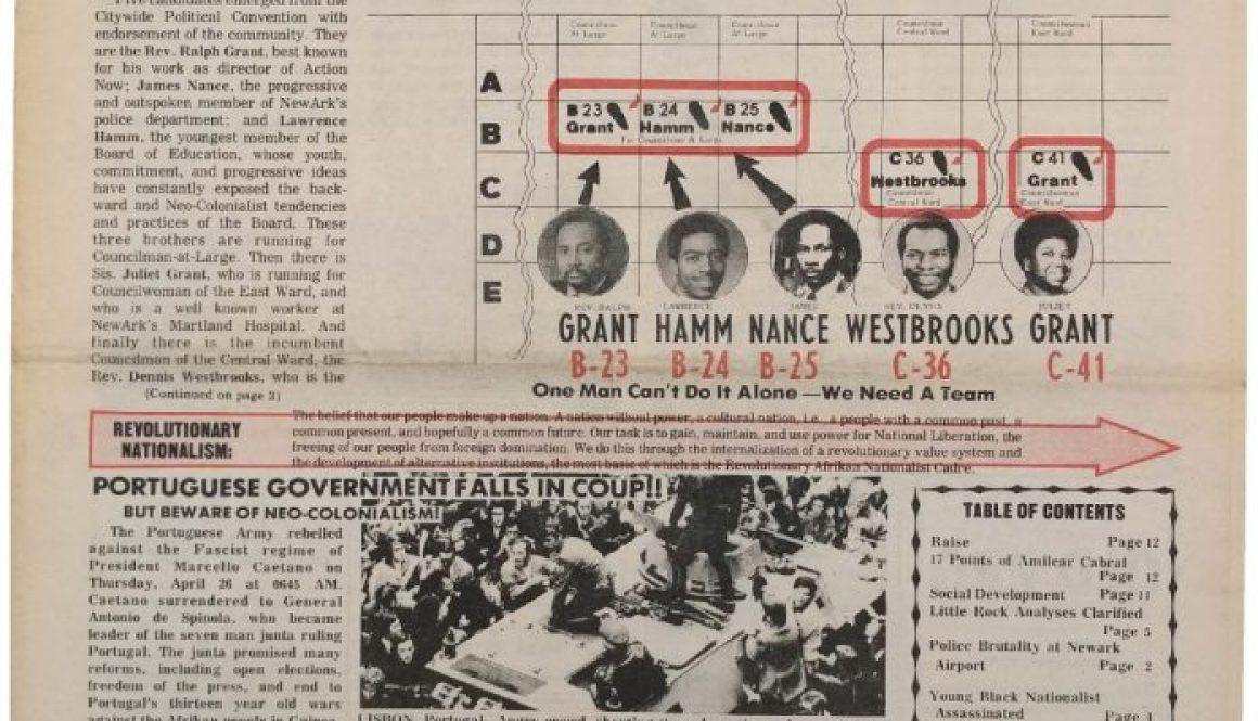 thumbnail of Unity and Struggle (May 1974)