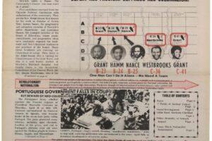 Unity and Struggle (May 1974)