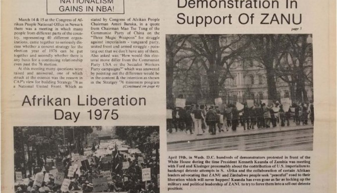 thumbnail of Unity and Struggle (May 1975)