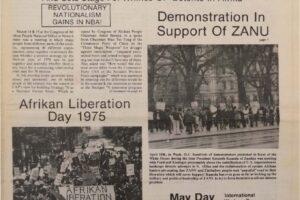 Unity and Struggle (May 1975)