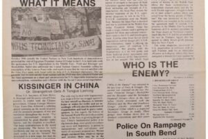thumbnail of Unity and Struggle (November 1975, First Edition)