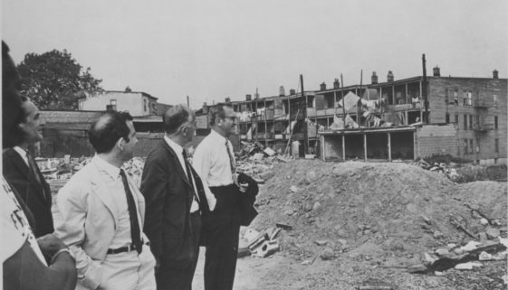 Willie Wright Leads Tour of Central Ward, 5