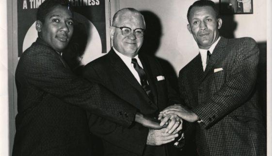 George Richardson, Dennis Carey, and Honey Ward